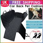 Waterproof Pet Cat Dog Car Rear Back Seat Cover Hammock NonSlip Padded Black Mat