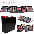 Pro Kit Beauty Cosmetic Eyeshadow Pro 177 Full Color Makeup Blush Palette Set