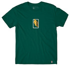 Girl Skateboards 3D OG Bathroom Logo Forest Green T-Shirt image