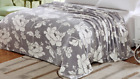 Madison™  Flower Print Super Soft Warm Cozy Plush Fleece Bed Blanket Comfortable image