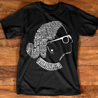 Notorious RBG Ruth Bader Ginsburg Quotes Feminist Black T-Shirt Gift