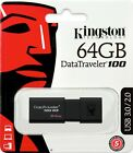 Kingston 128G 32GB 64GB USB 3.1 Drive USB 3.0 Flash Pen Drive Memory Stick