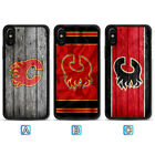 Calgary Flames Case For iPhone 11 Pro Max X Xs XR 8 7 Plus $4.99 USD on eBay
