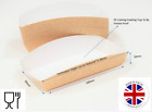 Kraft cardboard meal tray box for Chips, sandwich wedge, burger, fast food cakes