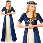 Adults Ladies Medieval Maid Marion Marian Fancy Dress Costume Outfit Book Week