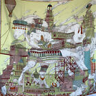 Used 1x only Authentic Hermes Silk Scarf Carre 90 Hippopolis