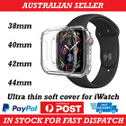 Apple Watch Series 1/2/3/4/5 Silicone TPU Bumper Case Cover iWatch 38/42/40/44mm