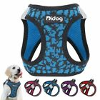 Harness Nylon Pet Puppy Cat Harness Reflective Adjustable For Dog No Pull Mesh