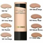 Max Factor Lasting Performance Foundation 35ml **CHOOSE YOUR SHADE** £4.2 GBP on eBay