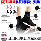 2 Open Toe Compression Ankle Socks Support Stockings Sleeve Men Women S-XL