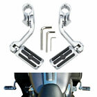 Motorcycle Long Highway Foot Pegs For Harley Electra Glide Ultra Classic FLHTCU $79.39 USD on eBay