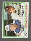 1978 to 1984  Topps Baseball League Leaders   ----  Pick Your Cards -----