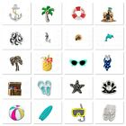 Authentic Origami Owl Charms TROPICAL BEACH Your Choice Combined Shipping image