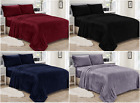Lavana Micro-Plush Flannel 3 Piece Sheet set 100% Microfiber Brushed Deep Pocket image