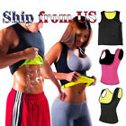 Kyпить Men & Women Sauna Sweat Slimming Trainer Vest Neoprene Yoga Thermal Body Shaper на еВаy.соm