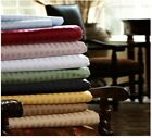 1 PC Fitted Sheet Extra Deep Pocket Egyptian Cotton Stripe Colors Cal King Size  image