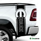 Dodge Ram Mopar  Rear Truck Bed Decal - Racing Vinyl Stripes Sticker Emblem $29.99 USD on eBay