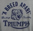 ⭐NWT⭐Lucky Brand Men's Triumph Breed Apart Motorcycle Drag Strip Gray T-Shirt $20.0 USD on eBay