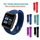 Replacement Silicone Watchband Wrist Strap for 16 Plus/D13 Smart Watch Novelty