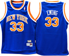 Patrick Ewing New York Knicks Hardwood Throwback Youth NBA Swingman Jersey on eBay