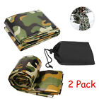 Emergency Sleeping Bag Thermal Waterproof Outdoor Survival Camping Hiking 2 Pack