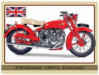 90158 Vincent Touring Rapide Motorcycle Wall Art Sign Decor LAMINATED POSTER US
