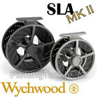 Wychwood SLA MKII Large Arbor Cassette Fly Fishing Reel With 2 Spare Spools
