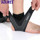 Mens Slim Ankle Brace Wraps Foot Sports Compression Sleeve Arthritis Support US $8.99 USD on eBay