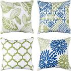 Throw Pillow Covers Set Of 4,Modern Decorative Throw Pillow Case Cushion Case