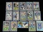 1990 Panini  Detroit Lions  Assorted Stickers ....... use the drop down menu