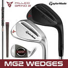 TaylorMade MG2 Milled Grind 2 Black & Chrome Wedges *ALL LOFTS* - NEW! 2020