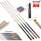 FULL ASH Pool Snooker Billiard Cues Stick Set 4,Two Piece Cues With 9.5mm tips $84.99 AUD on eBay