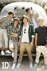 92147 ONE DIRECTION THE 5 GUYS VINTAGE AIRSTREAM Decor LAMINATED POSTER CA