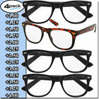 Kyпить Mens Womens Reading Glasses 4 Pairs Unisex Classic Retro Style Readers All Power на еВаy.соm
