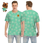 Animal Crossing New Horizons Leaf T-shirt fans Gift Men Casual Tee Top  image