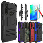 For Motorola Moto G Power 2020/g Stylus Case With Stand Clip / Screen Protector
