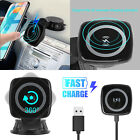 Qi Wireless Car Charger Charging Magnetic Mount Holder Dock For iPhone Samsung