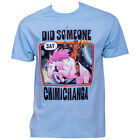 Deadpool Did Some Say Chimichanga T-Shirt Blue