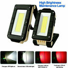 Rechargeable Magnetic COB LED Work Light Lamp Folding Inspection Torch CarRep Be
