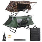 1 Person Folding Camping Tent Cot Outdoor Shelter Hiking Bed w/ Carry Bag Sturdy
