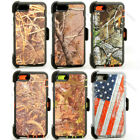 "iPhone 6 Plus & iPhone 6s Plus 5.5"" Defender Realtree Case w/Holster Belt Clip"