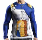 Dragon Ball Halloween Costume Goku Son Gokou Vegeta Tight Shirt Vest Long Sleeve