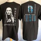 "MADONNA (2019) ""Madame X"" North American Concert Tour Dates T-Shirt Size XL/2XL image"