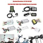 60V 1500W Brushed Brushless LCD Controller Motor for Electric Bike Scooter New