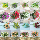 100+ Mixing Simulation Artificial Fake Plants Plastic Flowers Home Floral Decor