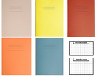 MATHS SQUARED SCHOOL EXERCISE BOOKS A5 SILVINE RHINO MARGIN Red blue yellow   for sale  Manchester