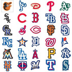 10 MLB Team Logo Decal Stickers Baseball 10 OF YOUR FAVORITE TEAM INDOOR USE on Ebay