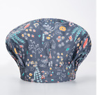 Floral Surgical Scrub Cap For Women Long Hair Bouffant Cotton Doctor Nurses New