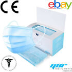Face Mask Surgical Disposable Mouth Guard Cover Face Masks Respiration U.K. CE