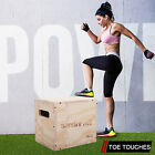 Kyпить 3-in-1 Wood Plyometric Box for Jump Training and Conditioning Plyo Exercise SML на еВаy.соm